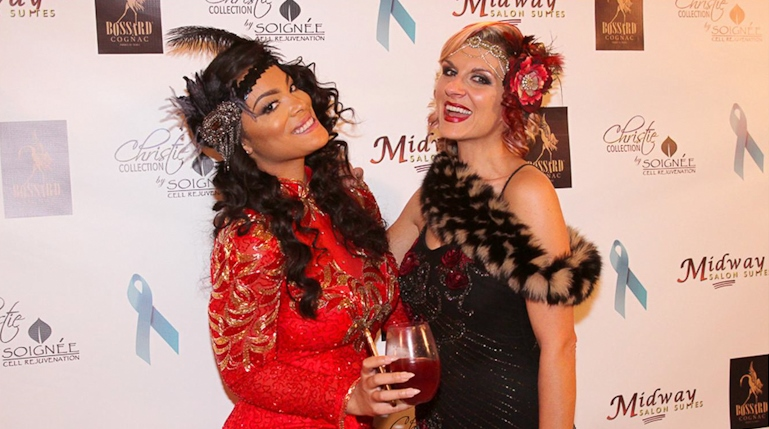"VH1′s ""Basketball Wives"" Great Gatsby Gala glammed by What A Betty"