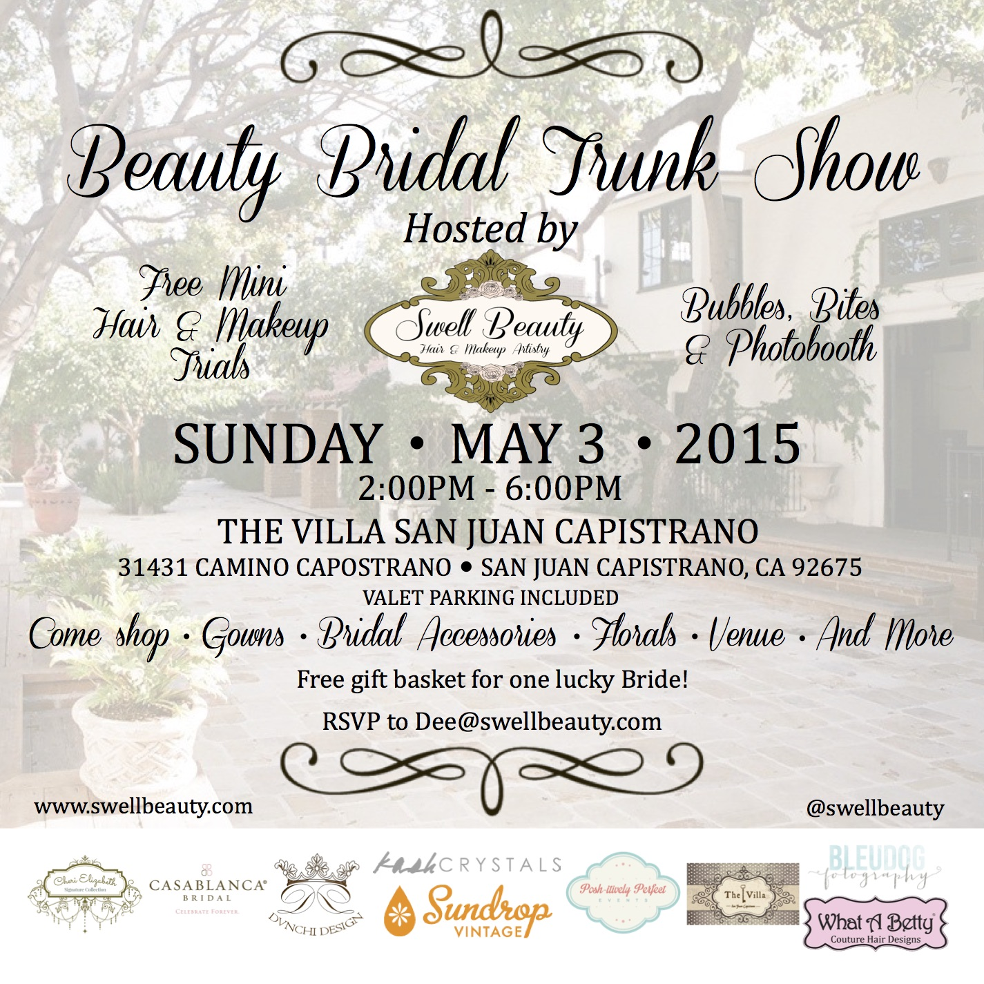 BEAUTY BRIDAL TRUNKSHOW