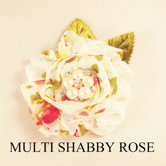 MULTI SHABBY ROSE