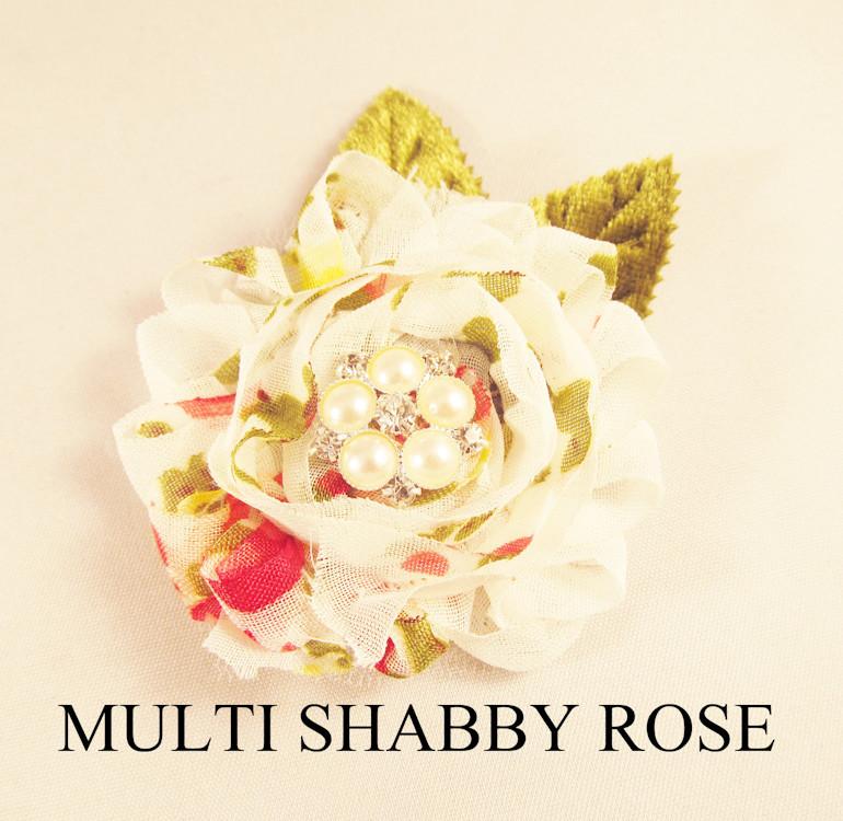 MULTI SHABBY ROSE