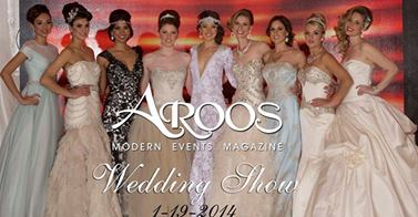 Aroos Magazine Bridal Runway show showcasing What A Betty designs