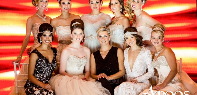 Aroos Magazine Bridal Runway show featuring What A Betty Designs
