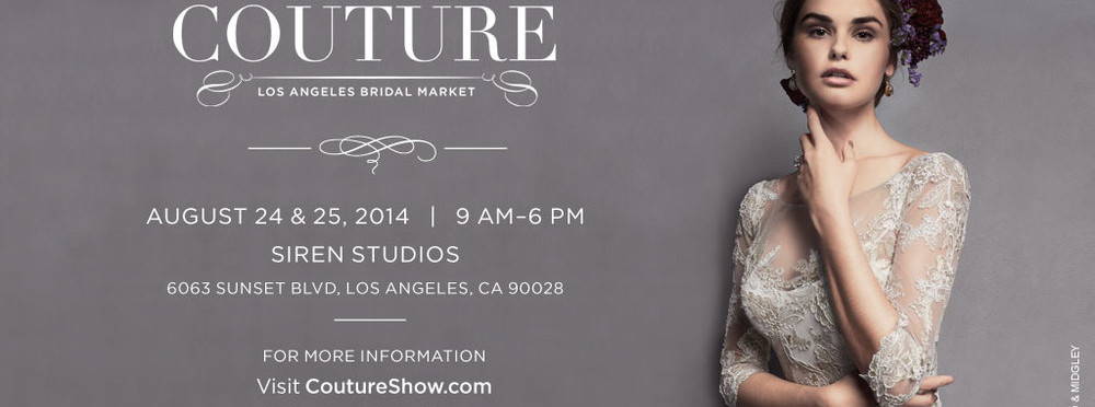 The Knot Couture Show in LA At Siren Studios